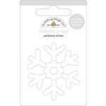 Doodlebug Design - Doodle-Pops - 3 Dimensional Cardstock Stickers - Snowflake