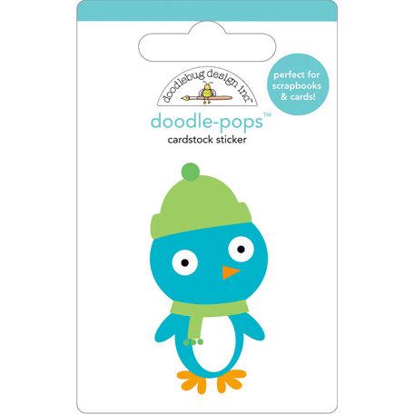 Doodlebug Design - Doodle-Pops - 3 Dimensional Cardstock Stickers - Mr. Penguin