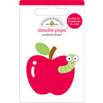 Doodlebug Design - Doodle-Pops - 3 Dimensional Cardstock Stickers - For Teacher