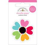 Doodlebug Design - Doodle-Pops - 3 Dimensional Cardstock Stickers - Kaleidoscope
