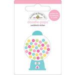 Doodlebug Design - Doodle-Pops - 3 Dimensional Cardstock Stickers - Gumballs