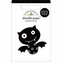 Doodlebug Design - Doodle-Pops - 3 Dimensional Cardstock Stickers - Batty