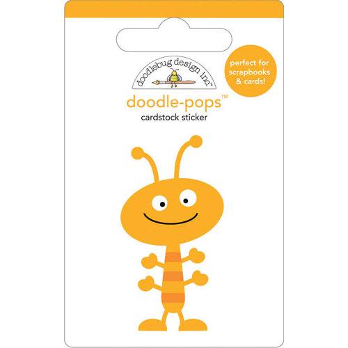 Doodlebug Design - Doodle-Pops - 3 Dimensional Cardstock Stickers - Hug Bug