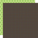 Doodlebug Design - Monster Mania Collection - Halloween - 12 x 12 Double Sided Paper - Tricky Tweed