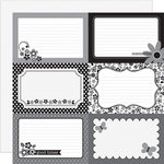 Doodlebug Design - Classic Collection - 12 x 12 Double Sided Paper - Classic 4 x 6 Cut-Outs