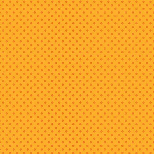 Doodlebug Design - Sugar Coated Cardstock - 12 x 12 Spot Glittered Cardstock - Tangerine