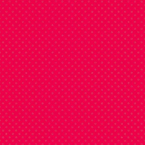 Doodlebug Design - Sugar Coated Cardstock - 12 x 12 Spot Glittered Cardstock - Ladybug