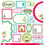 Doodlebug Design - Santa's Workshop Collection - Christmas - Cute Cuts - 12 x 12 Cardstock Die Cuts