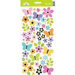 Doodlebug Design - Colorwheel Collection - Sugar Coated Cardstock Stickers - Icons