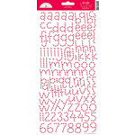Doodlebug Design - Alphabet Cardstock Stickers - Doodle Twine - Ladybug