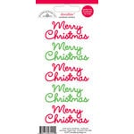 Doodlebug Design - Doodles - Cardstock Stickers - Merry Christmas - Multicolor