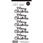 Doodlebug Design - Doodles - Cardstock Stickers - Merry Christmas - Beetle Black
