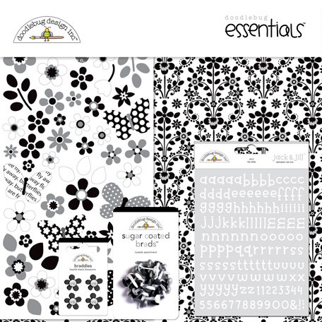 Doodlebug Design - Classic Collection - Essentials Kit