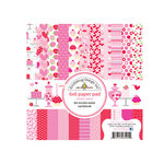 Doodlebug Design - Sweet Cakes Collection - 6 x 6 Paper Pad
