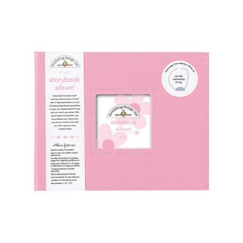 Doodlebug Design - 8 x 8 Storybook Album - Cupcake