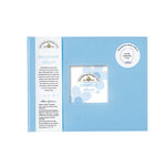 Doodlebug Design - 8 x 8 Storybook Album - Bubble Blue