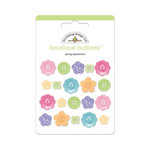 Doodlebug Design - Hello Spring Collection - Boutique Buttons - Assorted Buttons - Spring