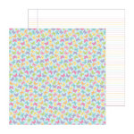 Doodlebug Design - Hello Spring Collection - 12 x 12 Double Sided Paper - Baby Butterflies