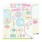 Doodlebug Design - Hello Spring Collection - Cute Cuts - 12 x 12 Cardstock Die Cuts