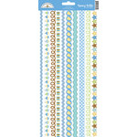 Doodlebug Design - Snips and Snails Collection - Cardstock Stickers - Fancy Frills