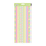Doodlebug Design - Hello Spring Collection - Sugar Coated Cardstock Stickers - Fancy Frills