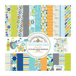 Doodlebug Design - Boys Only Collection - 12 x 12 Paper Pack