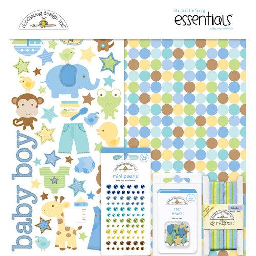 Doodlebug Design - Snips and Snails Collection - Essentials Kit