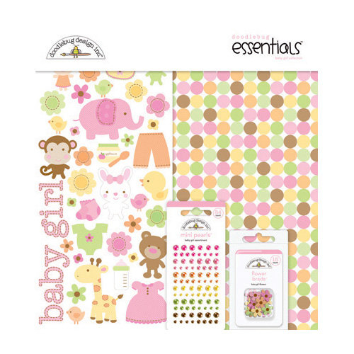 Doodlebug Design - Sugar and Spice Collection - Essentials Kit