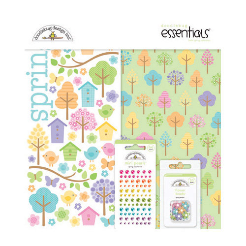 Doodlebug Design - Hello Spring Collection - Essentials Kit