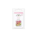 Doodlebug Design - Sugar and Spice Collection - Brads - Baby Girl - Flower