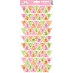 Doodlebug Design - Sugar and Spice Collection - Cardstock Stickers - Party Banner - Alphabet