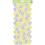 Doodlebug Design - Hello Spring Collection - Cardstock Stickers - Party Banner - Alphabet