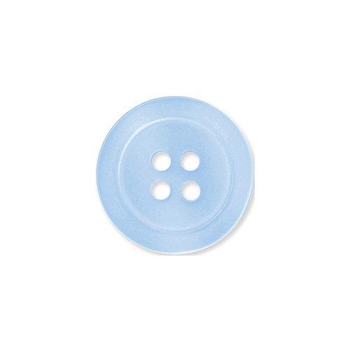 Doodlebug Design - Oodles - Buttons - Round - 19 mm - Bubble Blue