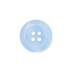 Doodlebug Design - Oodles - Buttons - Round - 19 mm - Bubble Blue