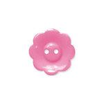 Doodlebug Design - Oodles - Buttons - Flower - 19 mm - Bubblegum