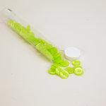 Doodlebug Design - Oodles - Buttons - Round - 15 mm - Limeade