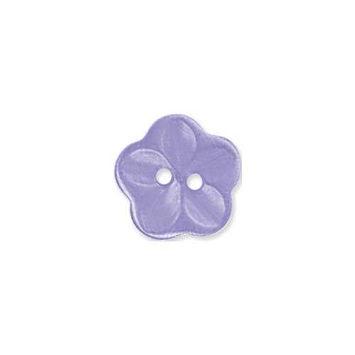 Doodlebug Design - Oodles - Buttons - Flower - 15 mm - Lilac