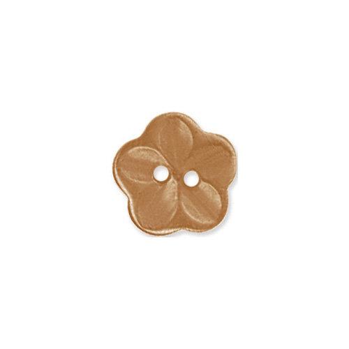 Doodlebug Design - Oodles - Buttons - Flower - 15 mm - Bon Bon