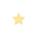 Doodlebug Design - Oodles - Buttons - Star - 15 mm - Bumblebee