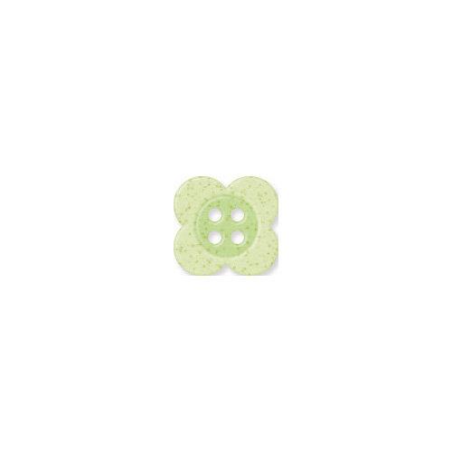 Doodlebug Design - Oodles - Buttons - Clover - 13 mm - Limeade