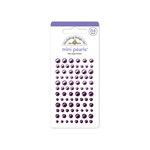 Doodlebug Design - Adhesive Pearls - Mini - Lilac