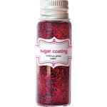 Doodlebug Design - Yankee Doodle Collection - Sugar Coating Metallic Glitter - Ladybug