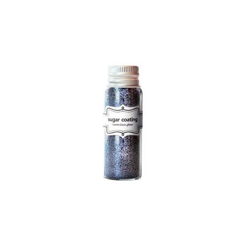 Doodlebug Design - Sugar Coating Metallic Glitter - Beetle Black