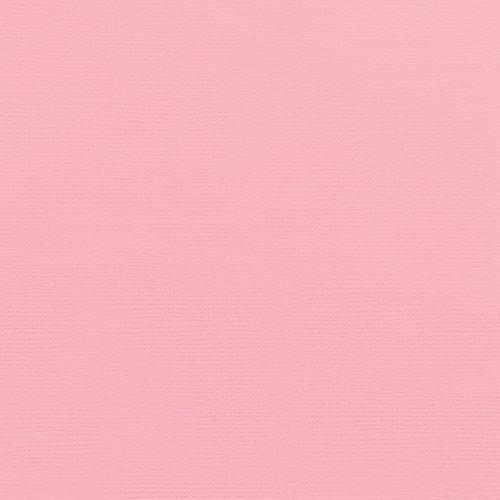 Doodlebug Design - 12 x 12 Textured Cardstock - Blush