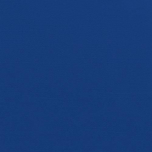Doodlebug Design - 12 x 12 Textured Cardstock - Blueberry