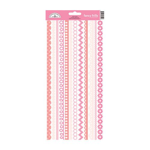 Doodlebug Design - Cardstock Stickers - Fancy Frills - Cupcake