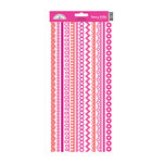 Doodlebug Design - Cardstock Stickers - Fancy Frills - Bubblegum