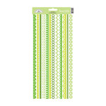 Doodlebug Design - Cardstock Stickers - Fancy Frills - Limeade