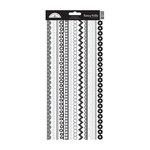Doodlebug Design - Cardstock Stickers - Fancy Frills - Beetle Black