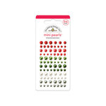 Doodlebug Design - North Pole Collection - Christmas - Adhesive Pearls - Mini